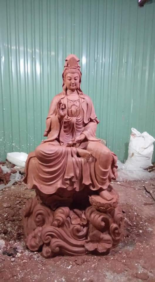 Tượng Phật quan âm bồ tát 05