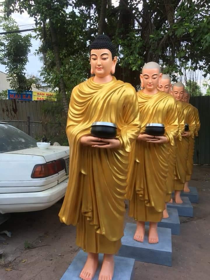 Tượng Phật thích ca chất liệu composite 07