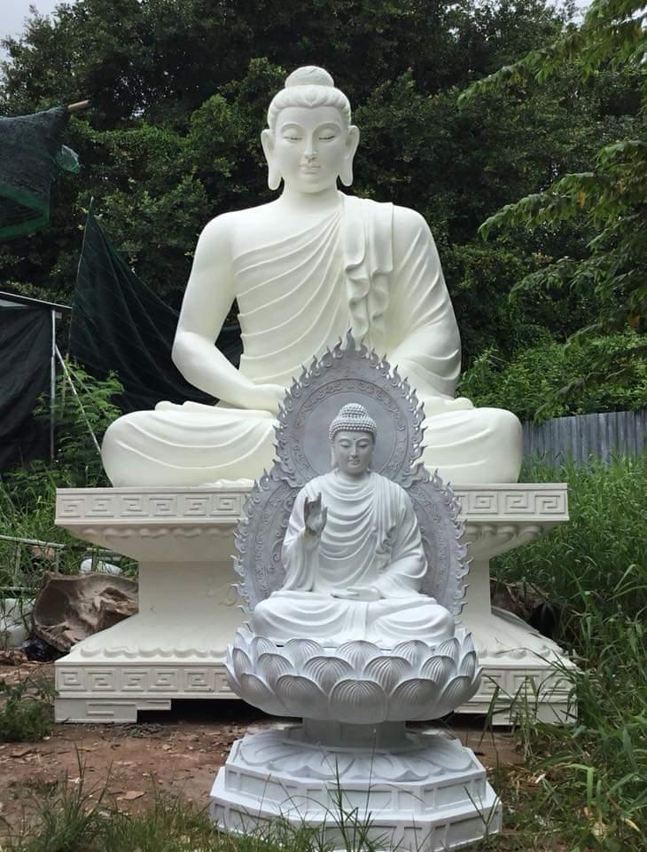 Tượng Phật thích ca chất liệu composite 08
