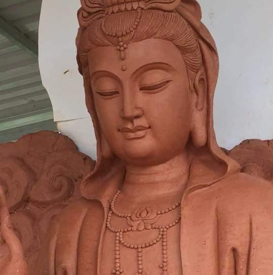 Tượng Phật quan âm bồ tát 04