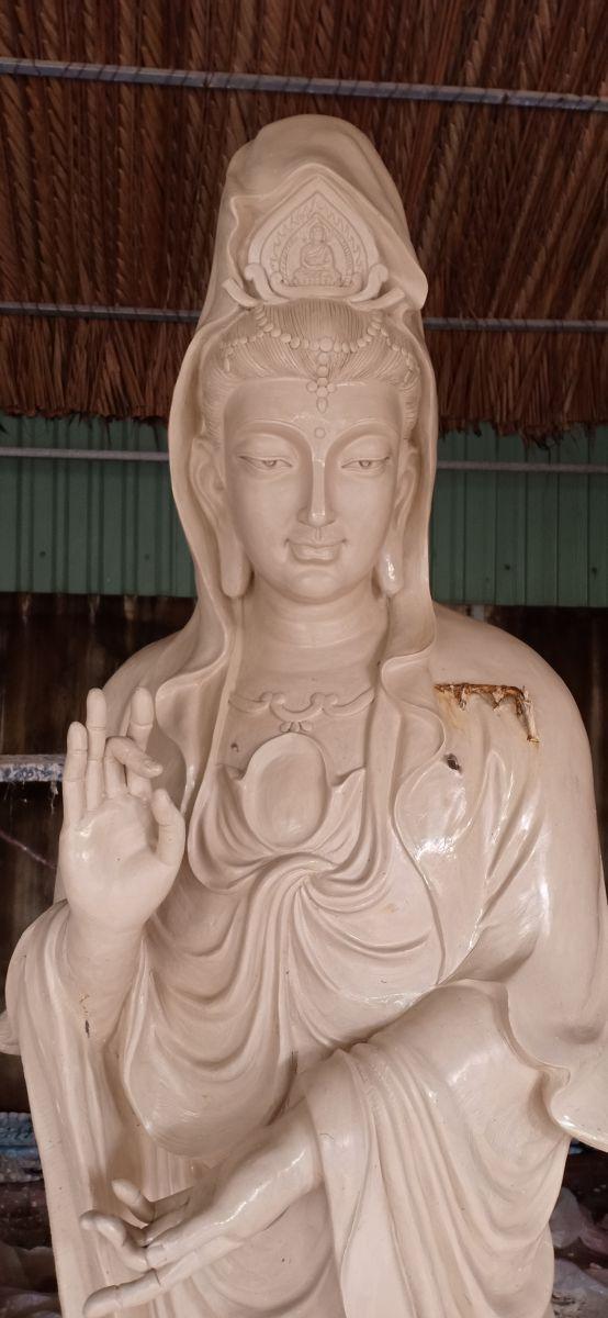 Tượng Phật quan âm bồ tát 02