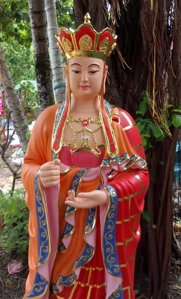 tượng địa tạng vương bồ tát bằng composite