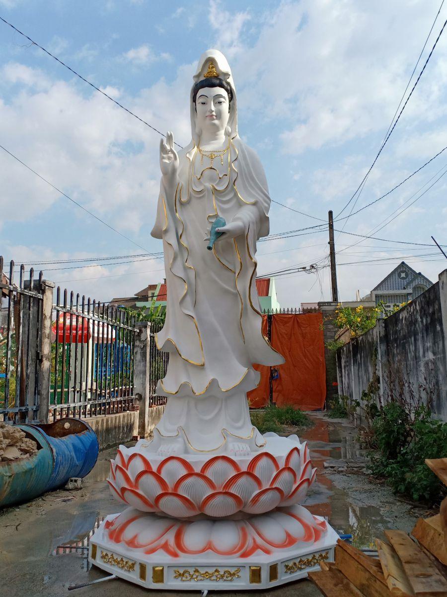 Cơ sở sản xuất tượng Phật composite giá rẻ